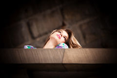 Портрет женщины города Стоковые Фотографии RF