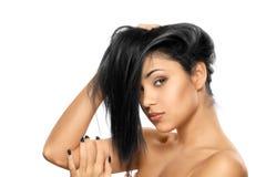 Портрет женщины красотки предназначенной для подростков девушки Стоковая Фотография