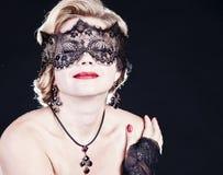 Портрет женщины моды красоты. Стоковые Изображения