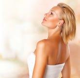 Портрет женщины спы Стоковая Фотография RF