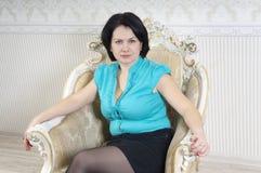 Портрет женщины Стоковая Фотография