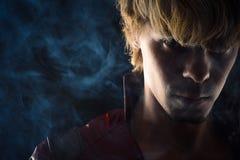 Портрет зверского человека Стоковая Фотография
