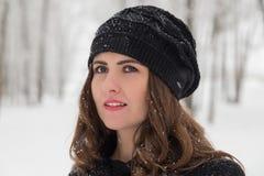 Портрет зимы стоковые фотографии rf
