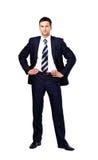 Портрет изолированного бизнесмена Стоковое Изображение RF