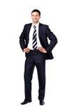 Портрет изолированного бизнесмена Стоковое Фото