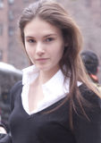 Портрет изделий Аманды фотомодели Стоковые Фото