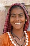портрет индейца девушки Стоковое Изображение
