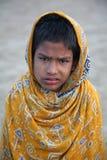 портрет индейца мальчика Стоковая Фотография