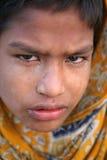 портрет индейца мальчика Стоковые Фото