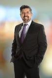 Портрет испанского старшего бизнесмена стоковое изображение rf