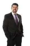 Портрет испанского старшего бизнесмена стоковое фото rf