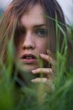 Портрет итальянской девушки Стоковое Изображение RF