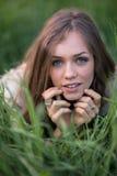 Портрет итальянской девушки Стоковое Фото