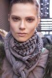 Портрет Каролины Brasch Нильсена фотомодели Стоковое фото RF