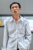 Портрет китайского старшия, Пекин, Китай Стоковые Изображения