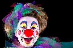 Портрет клоуна Стоковые Фото