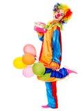 Портрет клоуна. стоковое фото rf