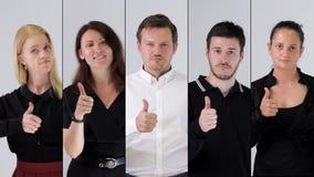 Портрет команды дела видеоматериал