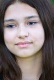 Портрет конца-вверх предназначенной для подростков девушки 14 лет Стоковая Фотография RF