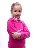 Портрет Конца-вверх ся девушки Стоковые Фотографии RF