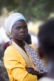 Портрет красивейшей африканской девушки Стоковое Фото