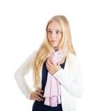Портрет красивейшей ся белокурой девушки. Стоковое Изображение RF
