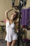 Портрет красивейшей девушки стоковые фотографии rf