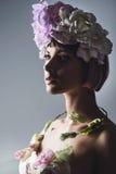 Портрет красивейшей девушки способа Стоковая Фотография