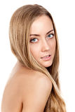 Портрет красивейшей женской модели Стоковые Фотографии RF