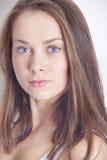Портрет красивейшей женщины брюнет Стоковое фото RF