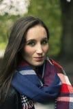 Портрет красивейшей женщины брюнет Стоковые Фотографии RF