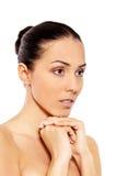 Портрет красивейшей женщины спы Стоковая Фотография RF