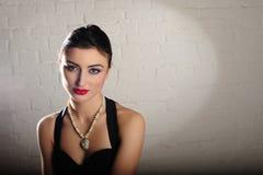Портрет красивейшей женщины Стоковое Изображение RF