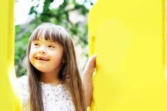 Портрет красивейшей маленькой девочки стоковые изображения rf