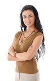 Портрет красивейшей молодой женщины стоковые фото