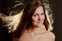 Портрет красивейшей молодой женщины стоковая фотография rf