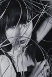 Портрет красивейшей молодой женщины Стоковые Изображения RF