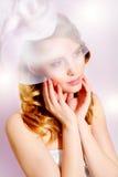 Портрет красивейшей молодой невесты стоковое изображение