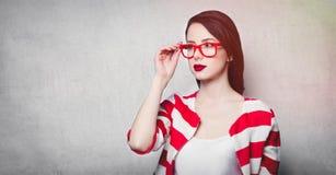 Портрет красивейшей молодой ся женщины Стоковые Фотографии RF