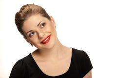 Портрет красивейшей молодой женщины Стоковое фото RF