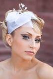 Портрет красивейшей невесты Стоковое Изображение RF