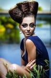 Портрет красивейшей повелительницы Стоковая Фотография RF