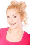 Портрет красивейшей fair-haired девушки стоковые фото