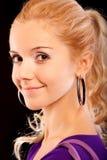 Портрет красивейшей fair-haired девушки стоковые изображения