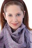 Портрет красивейший усмехаться девушки Стоковые Изображения RF