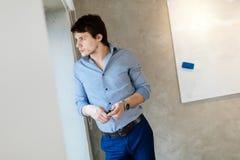 Портрет красивого бизнесмена Стоковое Фото