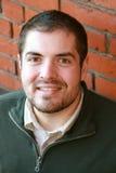 Портрет красивого бородатого молодого человека Стоковые Фото