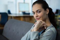 Портрет красивого женского руководителя бизнеса Стоковые Изображения