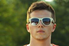 Портрет красивого человека внешнего Стоковые Фотографии RF