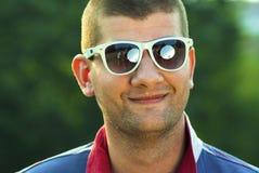 Портрет красивого человека внешнего Стоковое фото RF